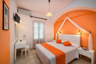accommodation pension petros cozy bedroom