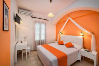 accommodation pension petros cozy bedroom